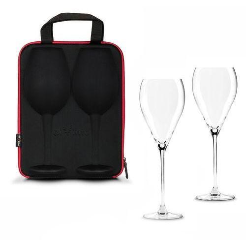Kieliszki na wino w etui diVinto Cristal, GADC2391