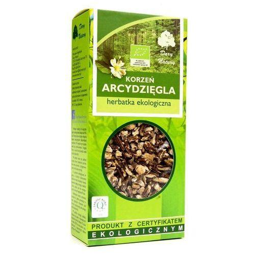 Dary natury - herbatki bio Herbatka z korzenia arcydzięgla bio 100 g - dary natury (5902741007568)