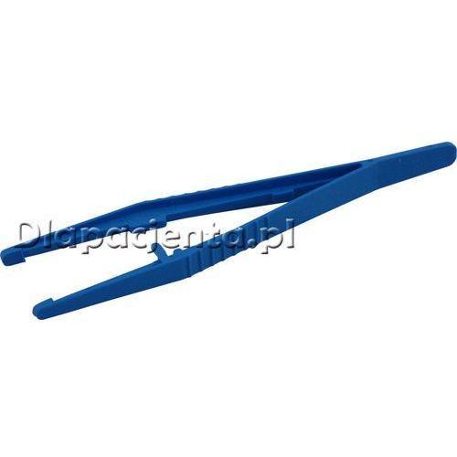 Maimed - pinceta jednorazowa plastikowa niesterylna 12,5 cm