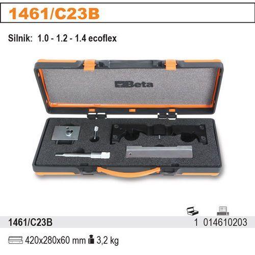 Zestaw narzędzi do blokowania i ustawiania układu rozrządu w silnikach benzynowych opel 1.0-1.2-1.4 ecoflex, model 1461/c23b wyprodukowany przez Beta