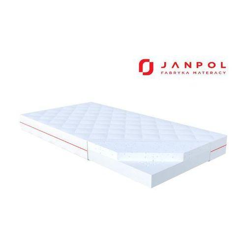 Janpol lio – materac dziecięcy, lateksowy, rozmiar - 60x120, pokrowiec - puroactive najlepsza cena, darmowa dostawa