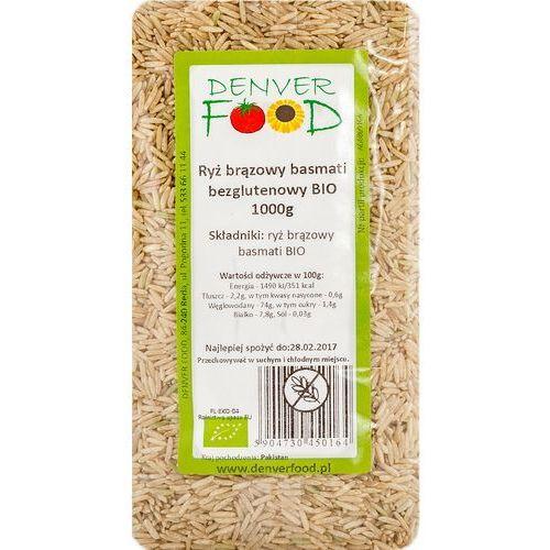 Denver food Ryż basmati brązowy bezglutenowy bio 1 kg (5904730450164)