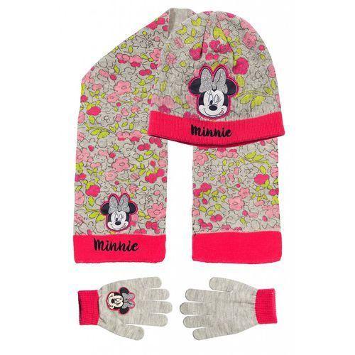 Komplet czapka szalik rękawiczki 3x35ah marki Minnie