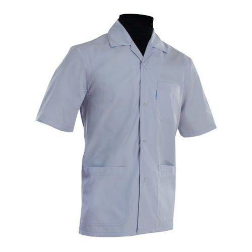 Dlapacjenta.pl - odzież medyczna Bluza medyczna męska z karczkiem - klasyczna 026m
