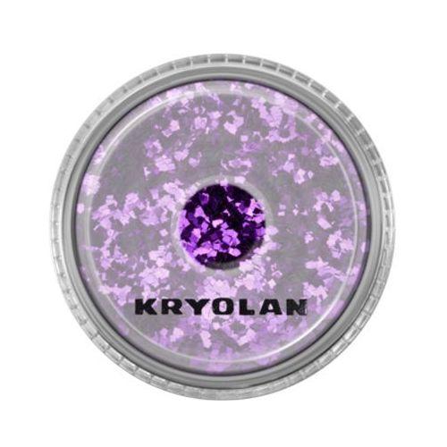 polyester glimmer coarse (purple) gruby sypki brokat - purple (2901) marki Kryolan