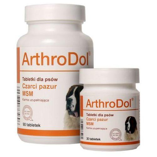 DOLFOS ArthroDol PRAWIDŁOWE FUNKCJONOWANIE STAWÓW preparat dla psów, 30-90tabl. (witaminy dla psów)
