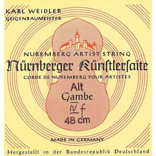 Nurnberger (645456) struna do chordofonu smyczkowego - d - menzura 37cm