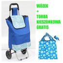 Oferta WÓZEK NA ZAKUPY + KIESZONKOWA TORBA GRATIS (wózek na zakupy)