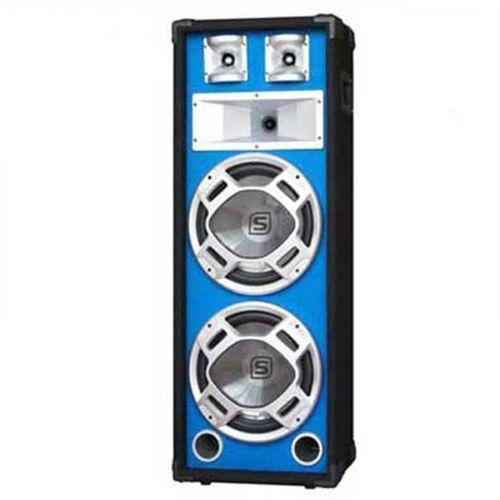 Skytec PA kolumna estradowa głośnik niebieski efekt świetlny 20 cm (8715693160970)