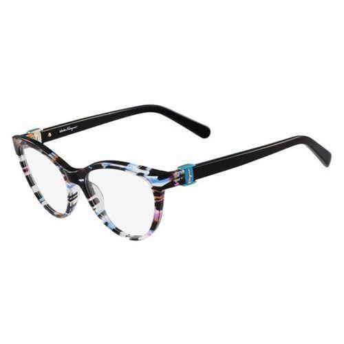 Okulary korekcyjne sf 2761 996 marki Salvatore ferragamo