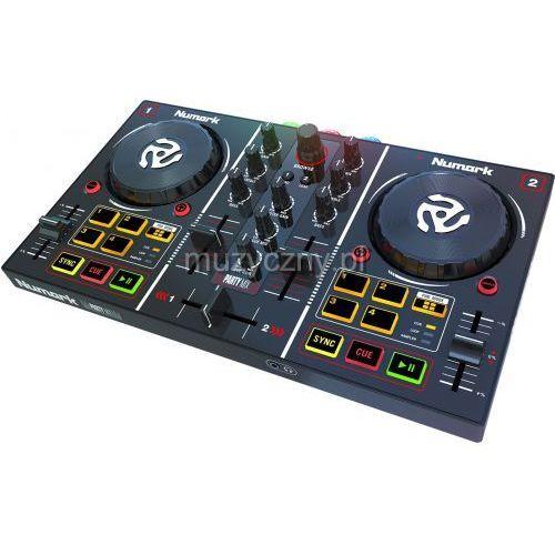 Numark PartyMIX kontroler DJ z efektem świetlnym