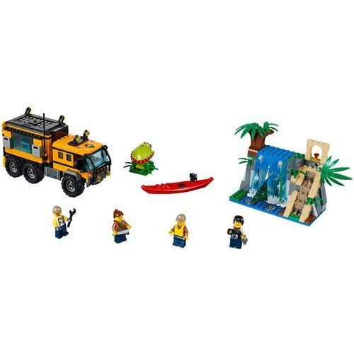 60160 MOBILNE LABORATORIUM (Jungle Mobile Lab) KLOCKI LEGO CITY