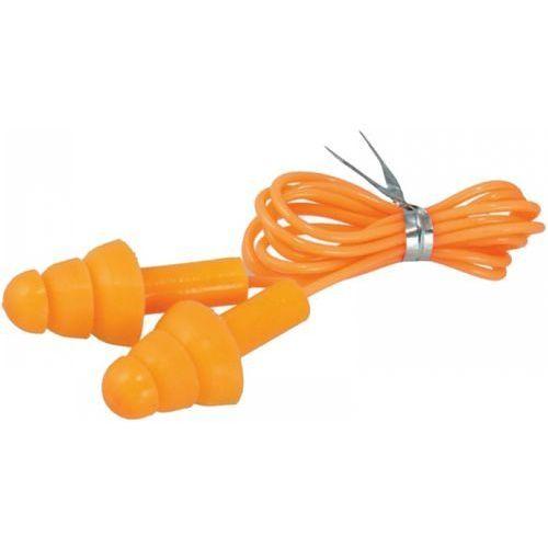 Zatyczki do uszu silikonowe ze sznurkiem bh1033 marki Dedra