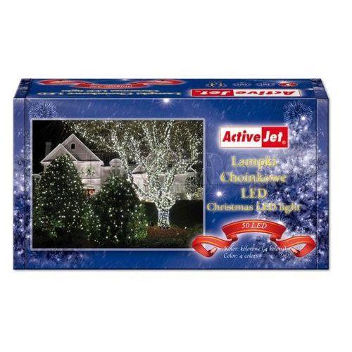 Lampki choinkowe ACTIVEJET 50 LED CL505RGBO z kategorii ozdoby świąteczne