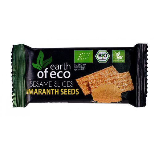 SEZAMKI Z AMARANTUSEM BIO 18 g - EARTH OF ECO (5907751601416)