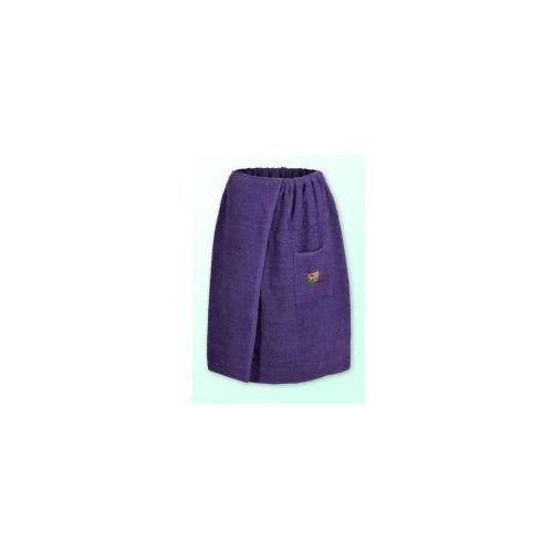 Sauna kilt ręcznik purpura 100% bawełna uniwersalny 70*140 z logo, Produkcja własna
