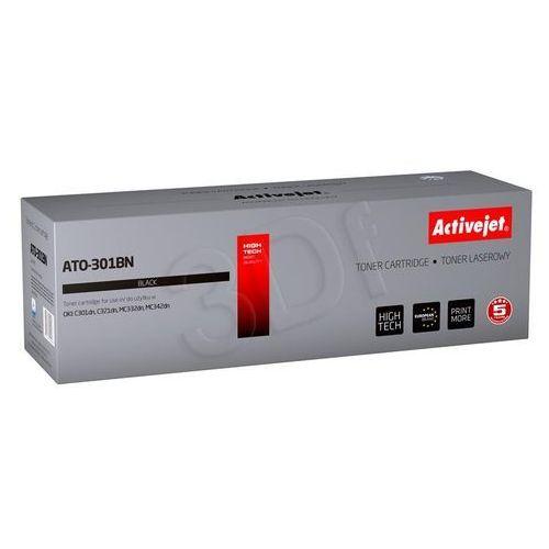 Activejet Toner ATO-301BN / OKI 44973536 (Black) Darmowy odbiór w 20 miastach! (5901443101567)