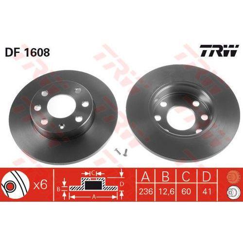 TARCZA HAM TRW DF1608 OPEL ASTRA F 1.4I, 16I 98-02, COMBO 1.4 94-01, TRW DF1608