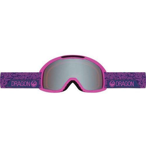 Dragon Gogle snowboardowe - dx2 - stone violet/ionized + amber (831) rozmiar: os