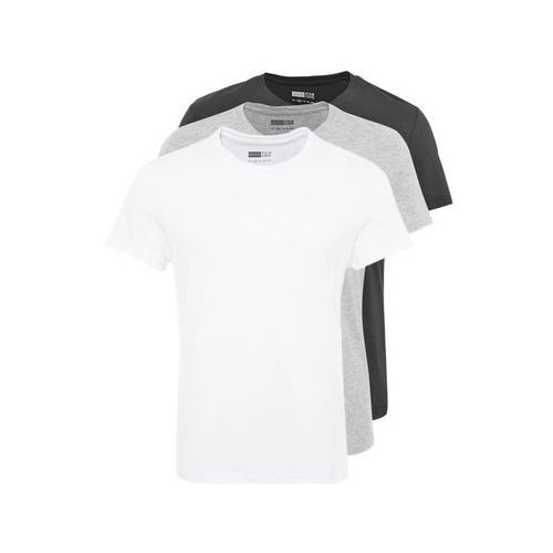 Pier One 3 PACK Tshirt basic white/black/grey