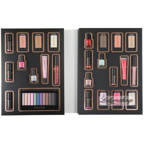 - makeup advent calendar - zestaw 25 kosmetyków (kalendarz adwentowy) marki Makeup revolution