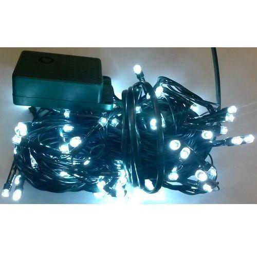 Lampki choinkowe LED 100 biały zimny i sterownik z kategorii ozdoby świąteczne