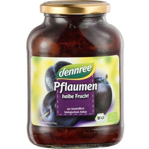 Dennree (dżemy, miody, herbaty) Śliwki połówki bez pestek z koncentratem soku jabłkowego bio 540 g (305 g) - dennree (4021851599501)