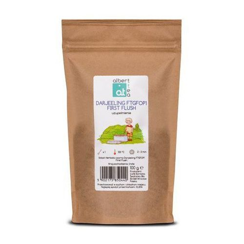 Albert tea darjeeling ftgfop1 first flush - uzupełnienie