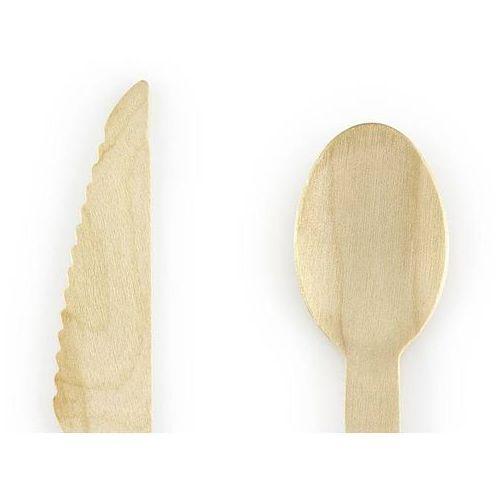 Ap Zestaw sztućców drewnianych woodland - 18 szt.