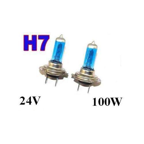 Żarówki (2szt.) H7 Xenon H.I.D. Light Blue do Ciężarówek... (24V - moc 100W) - Homologowane., 5907773414874