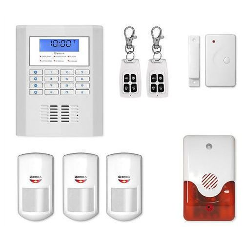 Erda electronic Alarm bezprzewodowy gsm protecta r3 + syrena 105 db - protecta r3 + syrena 105 db