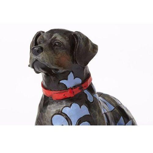 Pies onyx (black labrador) czarny labrador 4056956 figurka ozdoba świąteczna marki Jim shore