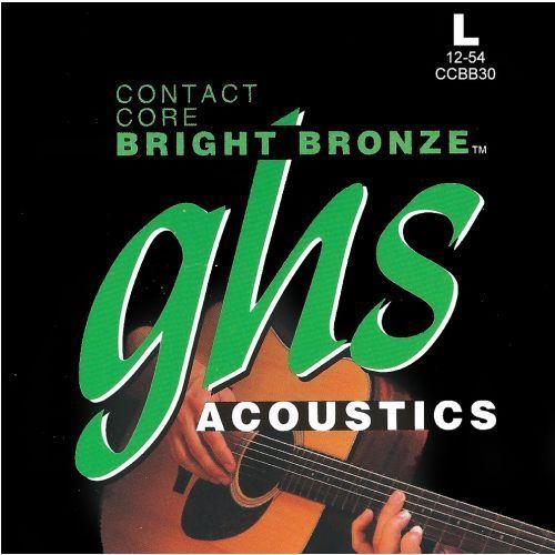 GHS Contact Core Bright Bronze struny do gitary akustycznej, Light,.012-.054