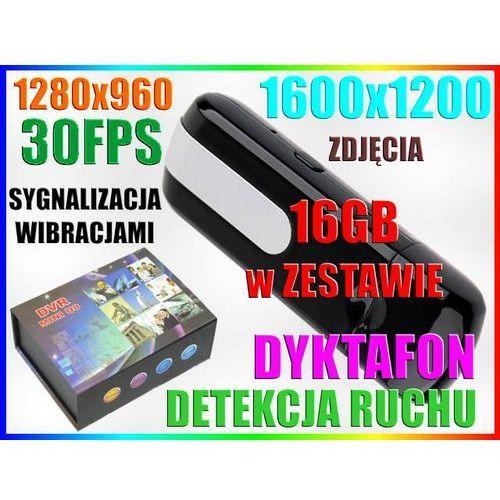 KAMERA WIBRACJA PENDRIVE 1600x1200 DET RUCHU +16GB - produkt z kategorii- PenDrive