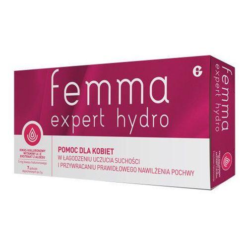 Glenmark Femma expert hydro globulki dopochwowe x 7 sztuk