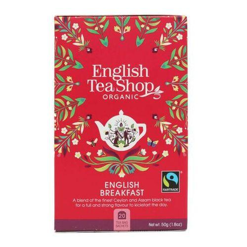 Herbata english breakfast 20x2,5g bio 50 g p marki English tea sho