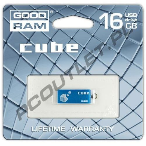 GOODRAM FLASHDRIVE 16GB USB 2.0 CUBE, kup u jednego z partnerów