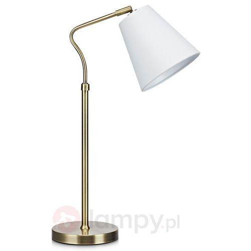 Lampa biurkowa TINDRA table AB/white 106869 - Markslojd - Mega rabat w koszyku (7330024567399)