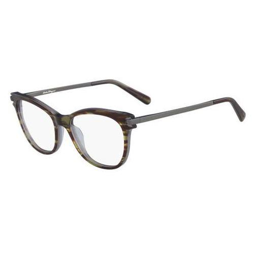 Salvatore ferragamo Okulary korekcyjne sf 2763 027