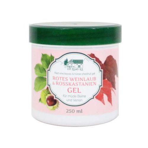 Allgau hof/ pullach hof Żel z liści czerwonych winogron i kasztanowca 250 ml rosskastanie-weinlaub gel