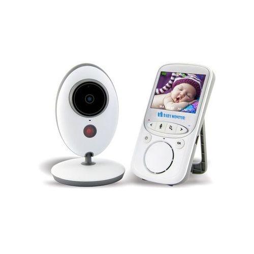 Elektroniczna niania vb605 z kamerą oraz monitorem 2,4 cala marki Feelstorm