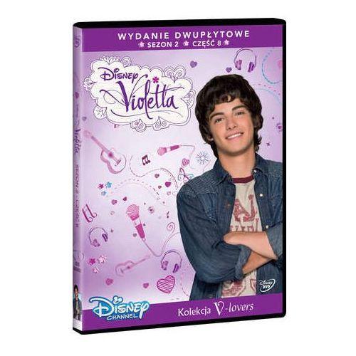 Violetta, sezon 2, część 8, odcinki 71-80 (2 dvd) marki Galapagos