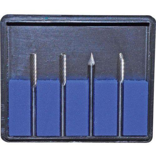Zestaw frezów z węglików spiekanych Rona, 3,2 x 38 mm, 4 szt. - produkt z kategorii- frezy