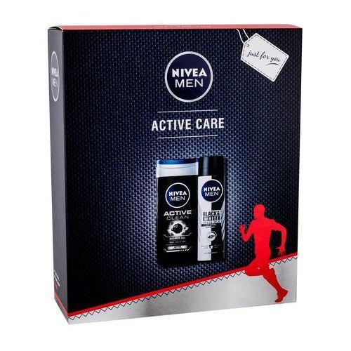 Nivea Men Active Clean zestaw 250 ml dla mężczyzn (9005800306315)