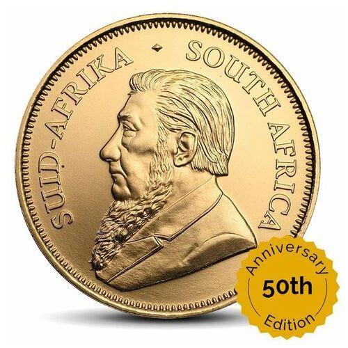 Krugerrand 1 uncja złota - 50. rocznica wydania monety