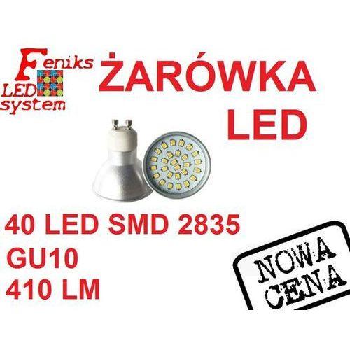 Żarówka LED GU10 2835 40LED 3,5W ciepła / zimna, FLS00175