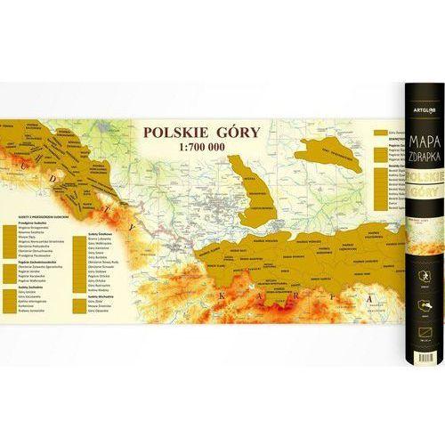 Mapa Zdrapka Polskie Góry 1:700 000 - Praca Zbiorowa (9788365828309)
