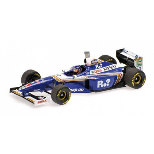 Williams renault fw19 #3 jacques villeneuve world champion 1997 high cover marki Minichamps