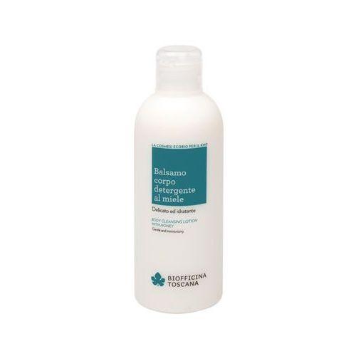 Oczyszczające mleczko do ciała z miodem 200ml - Biofficina Toscana