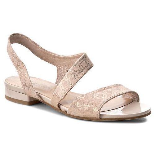 Sandały QUAZI - 1233-12 Różowy